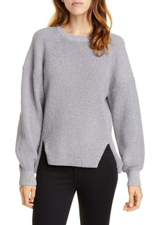 Joie Cicilia Metallic Raglan Sweater