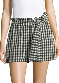 Joie Cleantha Gingham Shorts