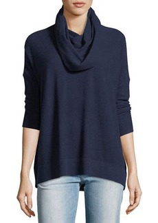 Joie Cowl-Neck Long-Sleeve Top
