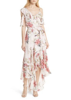 Joie Cristeta Floral Silk Maxi Dress