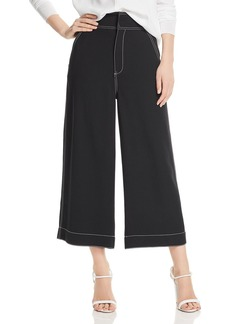 Joie Cropped Wide-Leg Pants