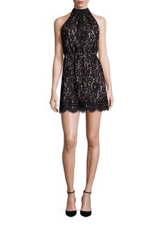 Joie Cyndi Lace Blouson Dress
