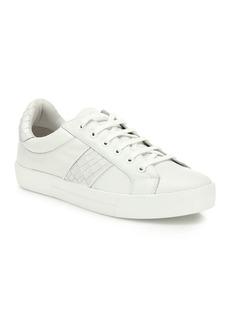 Joie Dakota Leather Crocco Sneakers