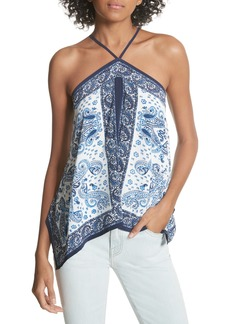 Joie Damesha Silk Top