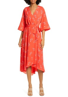 Joie Damon Faux Wrap Dress