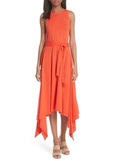 Joie Damonda Shark Bite Hem Pima Cotton Dress