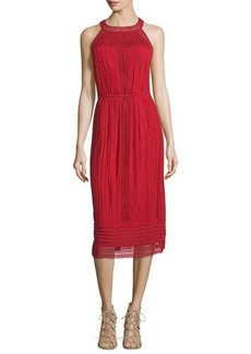Joie Dance Halter Eyelet Dress