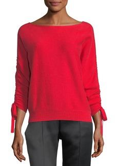 Joie Dannee Boat-Neck Wool-Cashmere Sweater