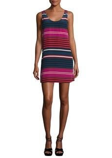 Joie Dawna Striped Silk Tank Dress