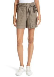 Joie Daynna Linen Drawstring Shorts