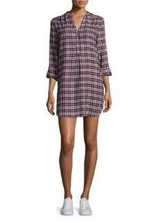 Joie Daysa Plaid Shirtdress