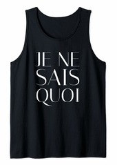 Joie De Vivre French Quote Frances Tank Top