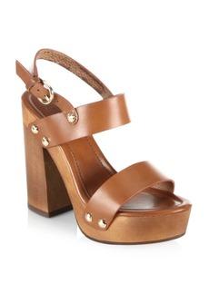 Joie Dea Leather Platform Sandals