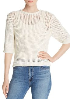 Joie Dekota Openwork Sweater
