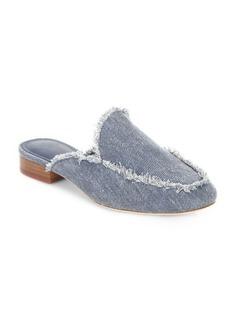 Joie Delaney Denim Loafer Slides