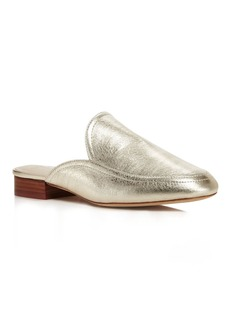 Joie Delaney Metallic Loafer Mules