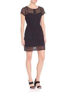 Joie Delarosa Cotton Embroidered Dress