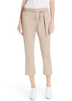 Joie Demarius Stretch Cotton Crop Pants