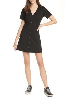 Joie Derion Front Button Minidress