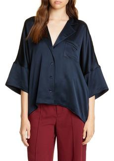 Joie Desmonda Satin Shirt