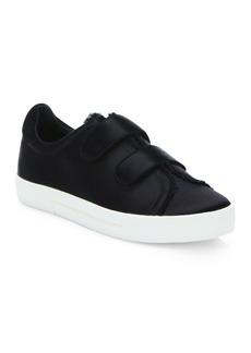 Joie Diata Satin Grip-Tape Sneakers