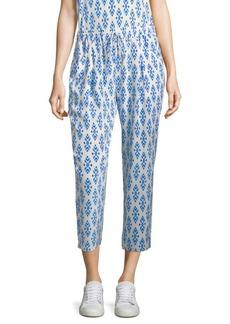Joie Dilys Ikat Silk Pants
