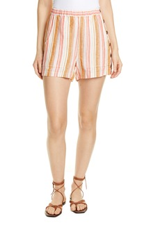 Joie Diradine Stripe Linen Shorts
