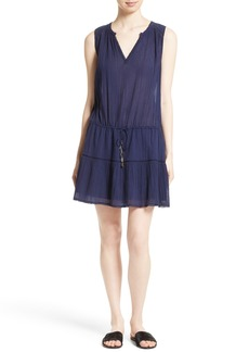 Joie Domitila Drawstring Drop Waist Dress