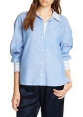Joie Drusilla Pinstripe Shirt