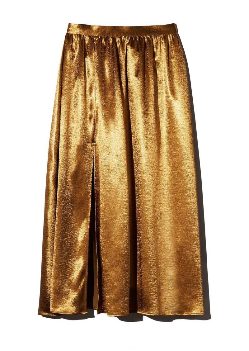Joie Duffy Satin Midi Skirt
