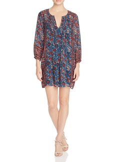 Joie Dulce Printed Silk Dress