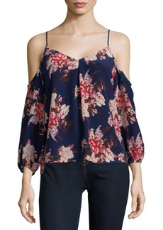 Joie Eclipse Floral Silk Top