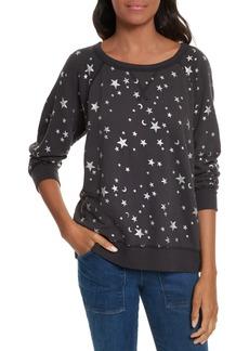 Joie Edrie Foil Print Sweatshirt
