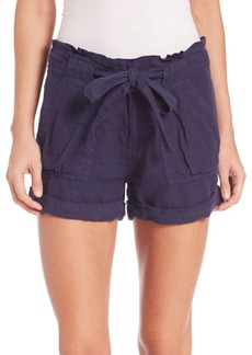 Joie Ellsa Linen Shorts