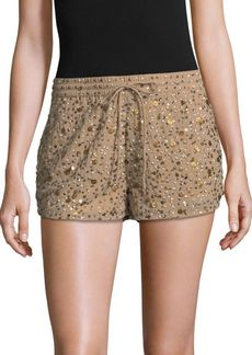 Joie Embellished Mini Shorts