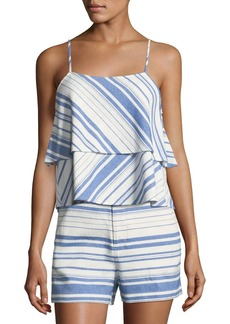 Joie Erma Tiered Sleeveless Top