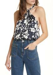 Joie Ertha Floral Halter Neck Top