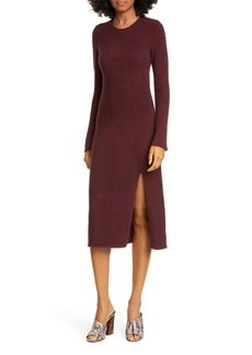 Equipment Etyenne Long Sleeve Wool Blend Sweater Dress