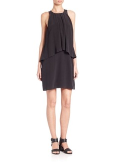 Joie Everla Silk Overlay Dress