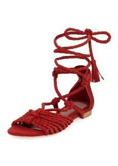 Joie Falk Lace-Up Flat Sandal