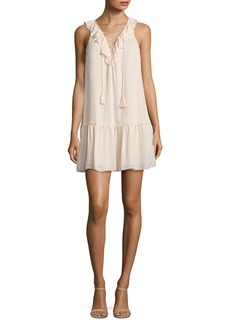 Joie Felip Ruffled Silk Dress