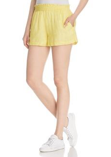 Joie Fenna Smocked-Waist Shorts