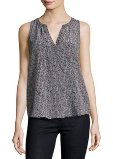 Joie Fifi Dot-Print Silk Top