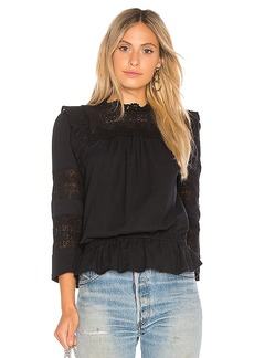 Joie Florencia Blouse in Black. - size L (also in S,XS, XXS)