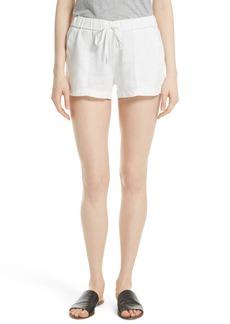 Joie Fosette Linen Drawstring Shorts
