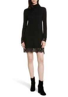 Joie Fredrika B Lace Trim Dress