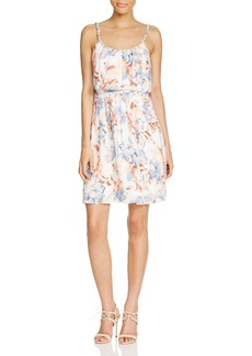 Joie Froste Printed Silk Dress