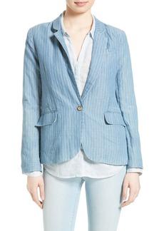 Joie Gabrianna Linen & Cotton Blazer