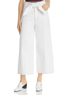 Joie Gadina Cropped Wide-Leg Pants