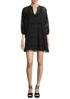 Joie Gelina Lace 3/4-Sleeve Dress